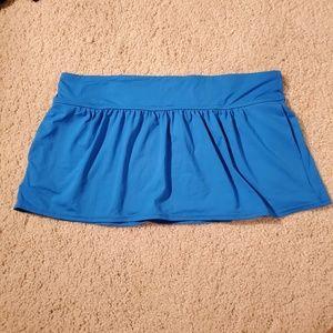 3for$25 NWT ann cole swim shorts skirt